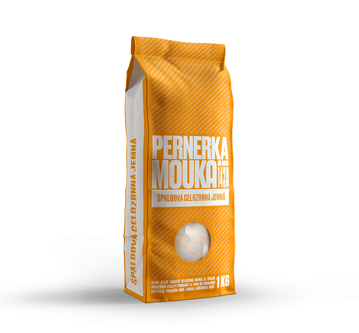 Špaldová celozrnná mouka se vyznačuje jemnou oříškovou chutí a vůní a lze ji v jakémkoliv poměru kombinovat s běžnou pšeničnou moukou nebo ji v kuchyni zcela nahradit.