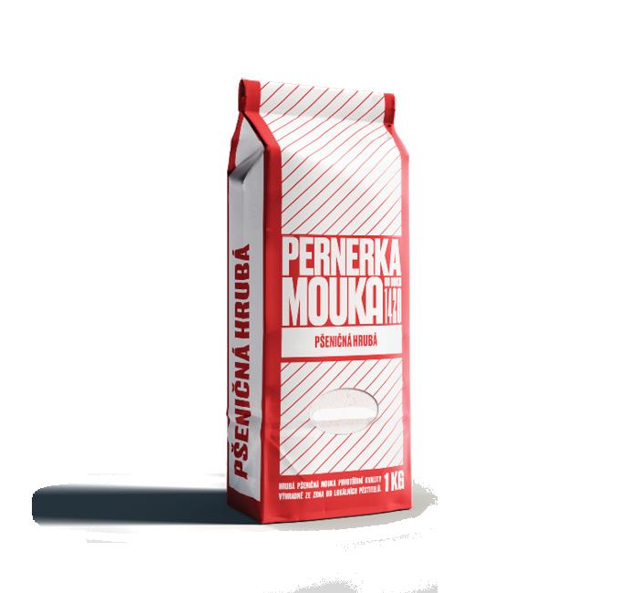 Pšeničná hrubá mouka je vhodná především pro přípravu vařených pokrmů a příloh.